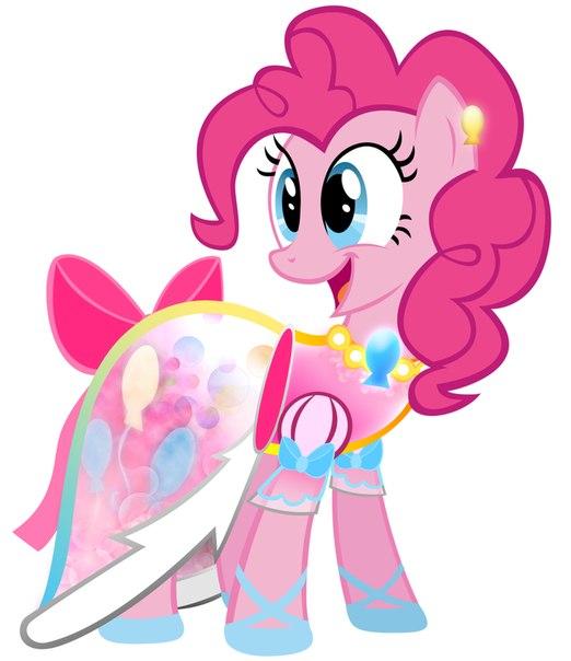 Пинки пай пони в платье