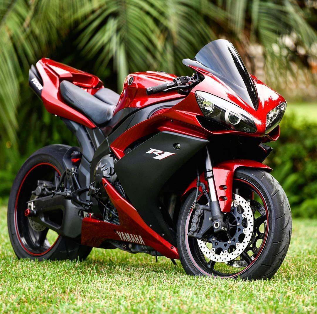 Парни оценят такой аппарат. Красавица Yamaha R1