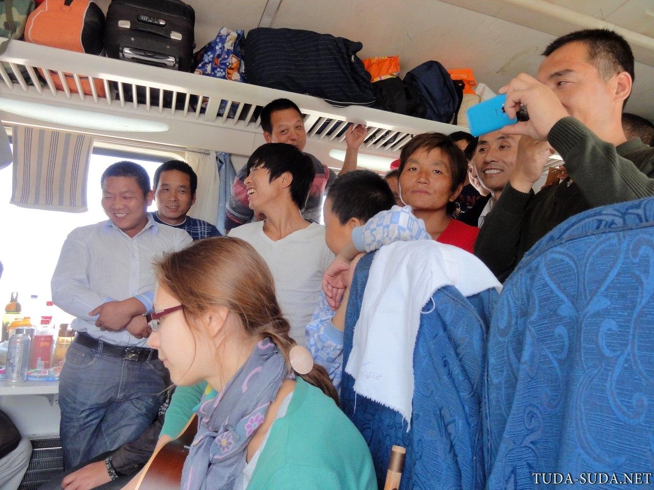 Поезда в Китае