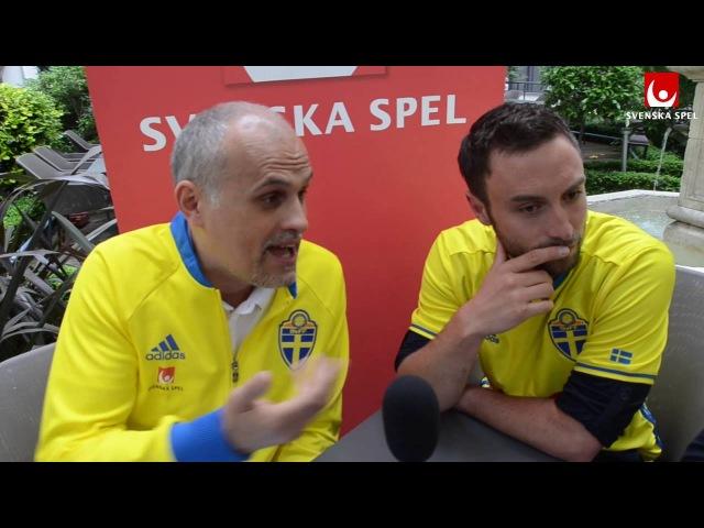 Måns Zelmerlöw och Jonas Björkman pratar EM minnen framåtsverige