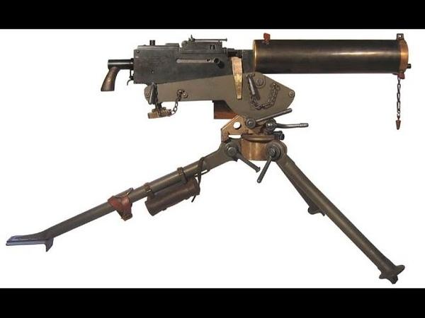 Пулемёт - Браунинг 1917 г. Конструкция и принцип действия.