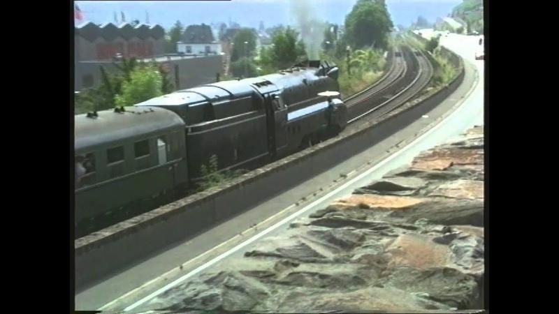 Die 01 1102, Das Blaue Ungeheuer, am Rhein und an der Ahr 1999