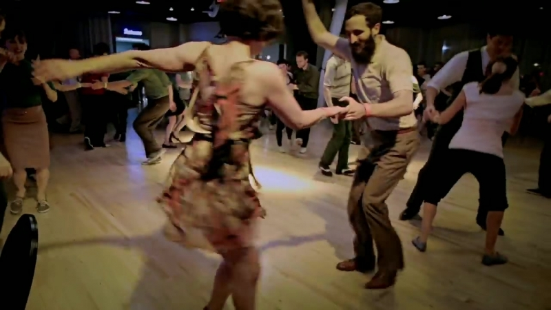 Midwest Lindyfest 2013-Social Lindy  Hop-Ryan Calloway Ann Mony