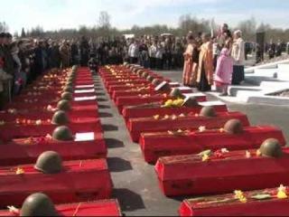 07.05.2013 Захоронение в Мясном бору
