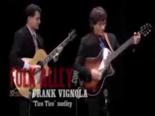 Frank Vignola - Tico Tico - Performance (Folk Alley)