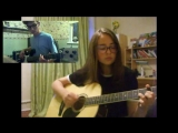 Green Day - Boulevard of Broken Dreams (guitar+vocal+bass cover)