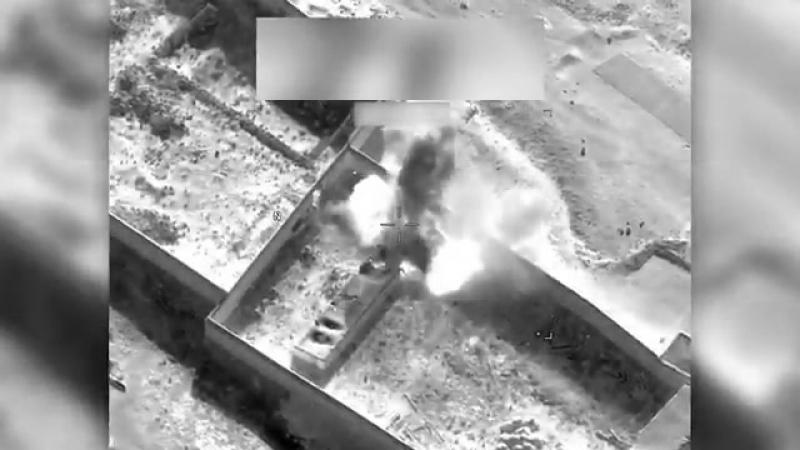 Авиаудар ВВС США по складу талибов в провинции Логар.