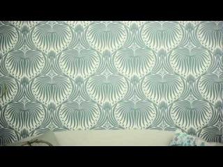 Как правильно клеить обои (How to Hang Wallpaper)
