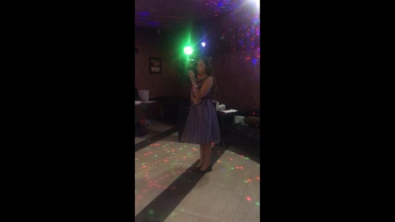 Пела на свадьбу родной сестре❤️❤️😍😘