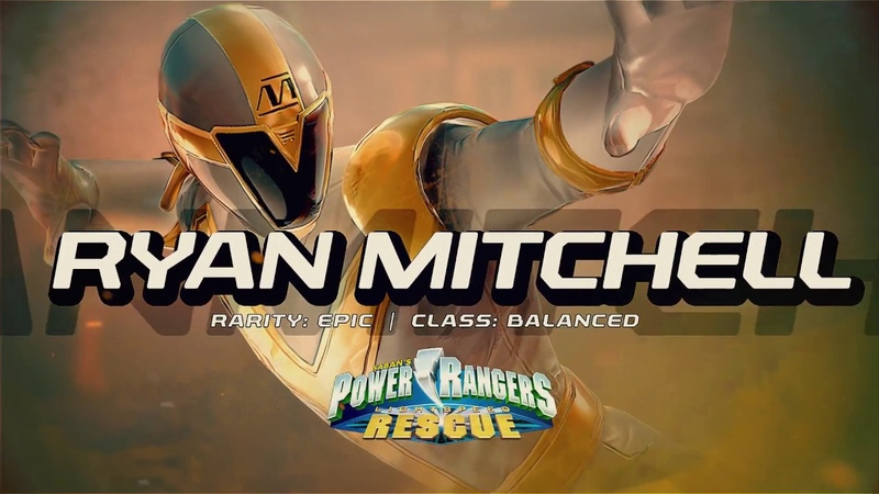 Power Rangers: Legacy Wars (Lightspeed Rescue) Ryan Mitchell (Moveset)