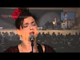 Albanian folk songs | Elina Duni | TEDxPlaceDesNations