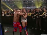 (WWE Mania) WrestleMania X-Seven Kurt Angle vs Chris Benoit