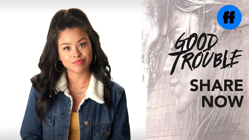 Good Trouble | Cierra Ramirez and Maia Mitchell on the Housing Crisis | Freeform