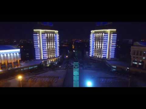 Алматы.Almaty снято с Квадрокоптера.