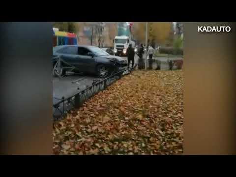ДТП на ул. Комсомольской в Калининграде. 10.11.18