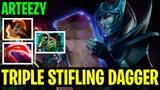 Triple Stifling Dagger - Arteezy Phantom Assassin FULL DAMAGE BUILD - Dota 2