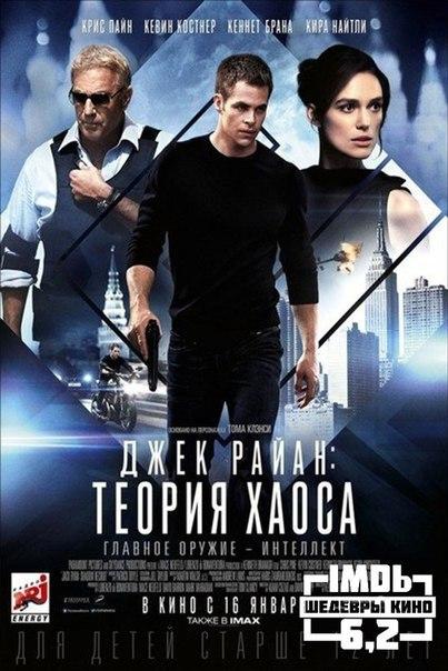 Джек Райан: Теория хаоса (2014)