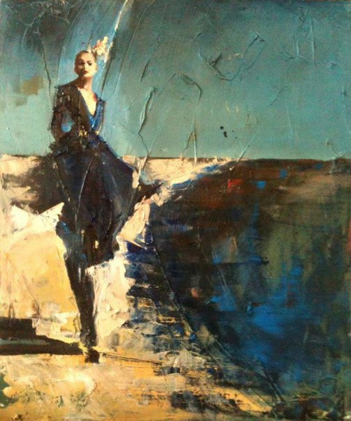 Молодой французский художник Фанни Нушка Морэ (Fanny Nushka Moreaux)