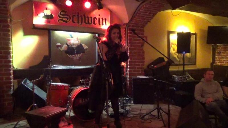 Янa Аверьянoва(unlimited arts show в SCHWEIN Клуб-бар ШВАЙН,24.4.18)