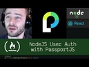 NodeJS User Auth with PassportJS (P4D12) - Live Coding with Jesse