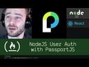 NodeJS User Auth with PassportJS (P4D12) - Live Coding with Jesse