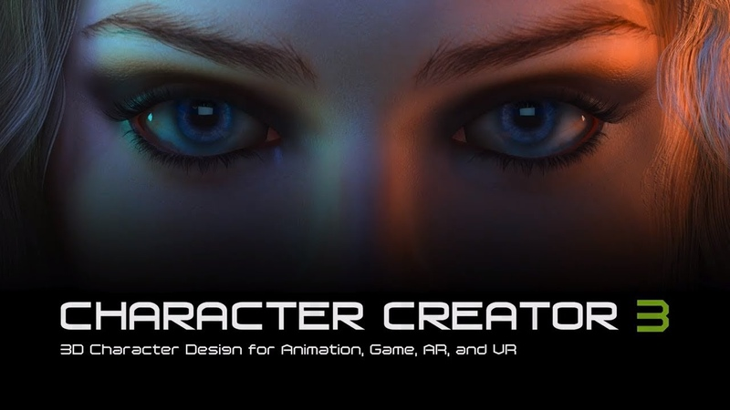 Character Creator 3 - 3D Character Design for Animation, Game, AR and VR