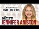Jennifer Aniston Makeup Tutorial Allure Magazine Cover Charlotte Tilbury