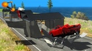 BeamNG.drive - Sheds Against Cars Crashes