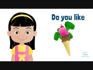 Do You Like Broccoli Ice Cream ¦ Super Simple Songs