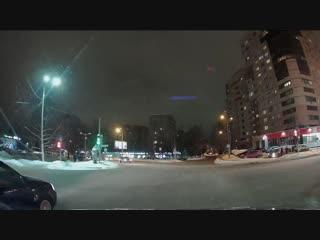 Наглый таксист нарушитель на Юбилейной г.Железнодорожный