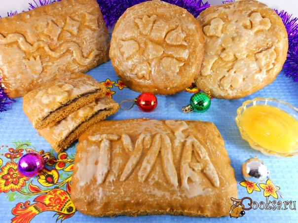 Very tasty and fragrant gingerbread which is very similar to taste to the original! Remarkable pastries by New year and Christmas!