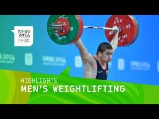 Khetag Khugaev Wins Men's Weightlifting 85Kg Gold - Highlights | Nanjing 2014 Youth Olympic Games