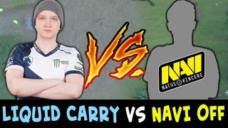 LIQUID carry vs NAVI new offlane — Matumbaman vs Blizzy