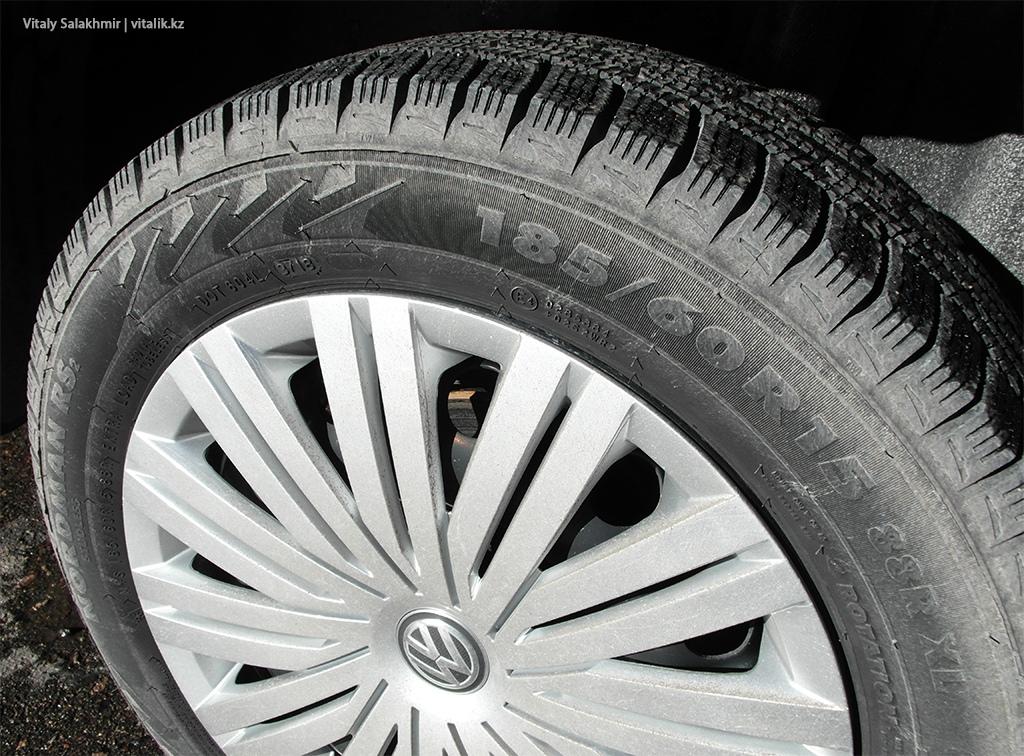 Зимняя резина на машине Anytime Казахстан