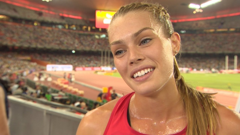 WCH 2015 Beijing - Colleen Quigley USA 3000m Steeplechase Final 12th