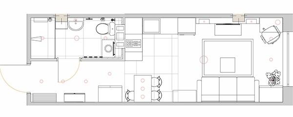 Квартира-студия 23 кв.