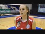 Ксения Семышева после матча с