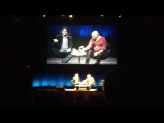 Gerard Way and Grant Morrison at the Sydney Opera House - 5/10/13
