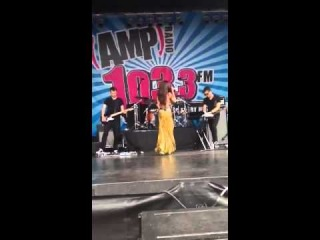 Selena Gomez Come And Get It AMP Radio Bday Bash Boston