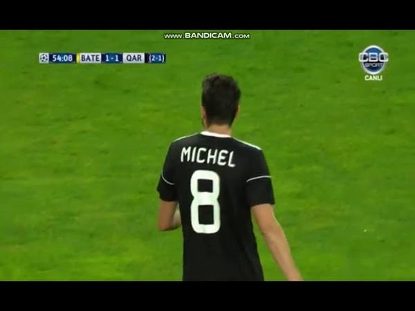 BATE 1-1 QARABAG FC GOAL MİCHEL UEFA CHAMPİONS LEAGUE