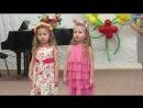 Настенька и Алиса поздравляют всех мамочек с 8 Марта!