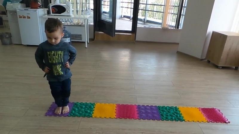 Комплекс упражнений на массажных ковриках ОРТО ПАЗЛ