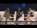 Винни Харлоу, Лилли Сингх и София Карсон на сцене мероприятия «WE Day»   19.04.2018