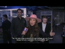 Tom Ellis Lauren German on set of Lucifers 3 Season - Good Day LA RUS