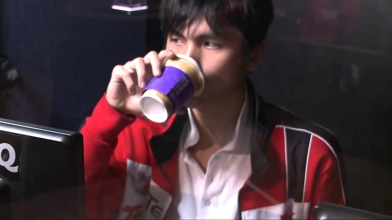 Iceiceice and his hot chocolate
