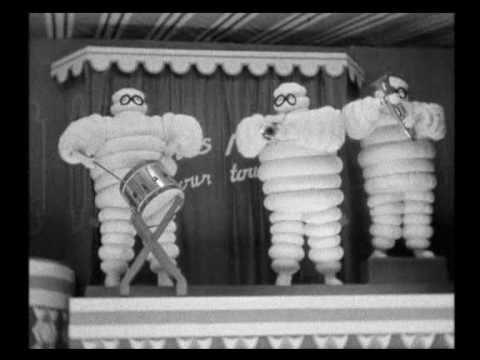 Michelin. Salons avant la guerre. 1935 - 1936