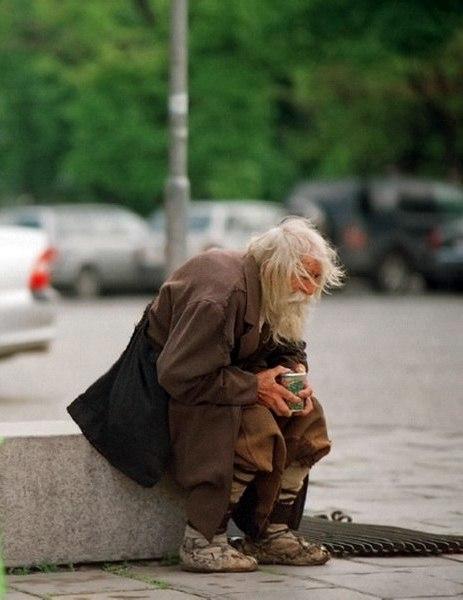 Нищий благотворитель из Болгарии FbJRFOOTjv4