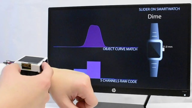 UIST 2018 - Indutivo Tangible Input on Smartwatches using Inductive Sensing
