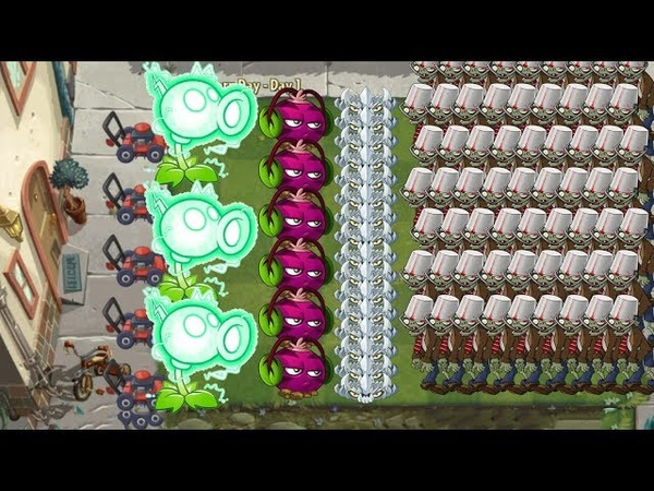 Plants vs Zombies 2 - Electric Peashooter, Phat Beet and Spikerock