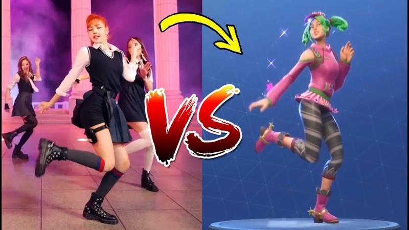 181016 K-Pop VS. FORTNITE ¿Whats Your Favorite   Dance Challenge BTS amas American Music Awards